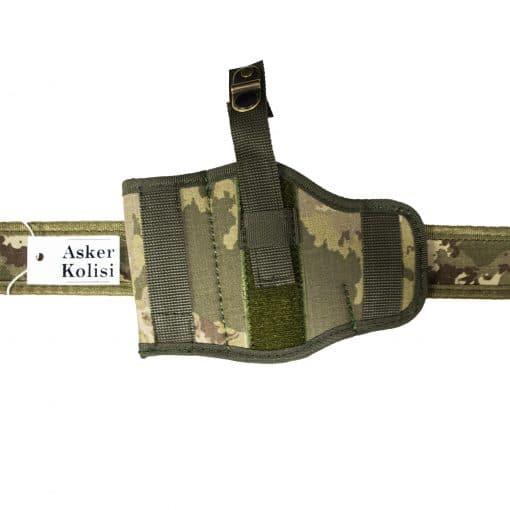 yeni tsk kamuflaj bel silah kilifi tabanca askeri malzeme