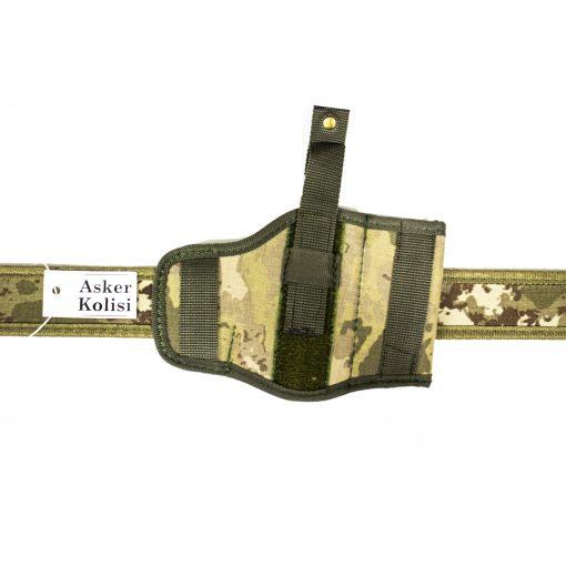 yeni tsk kamuflaj bel silah kilifi tabanca askeri malzeme1