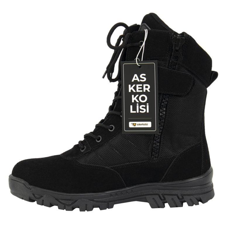 special siyah outdoor askeri bot11111