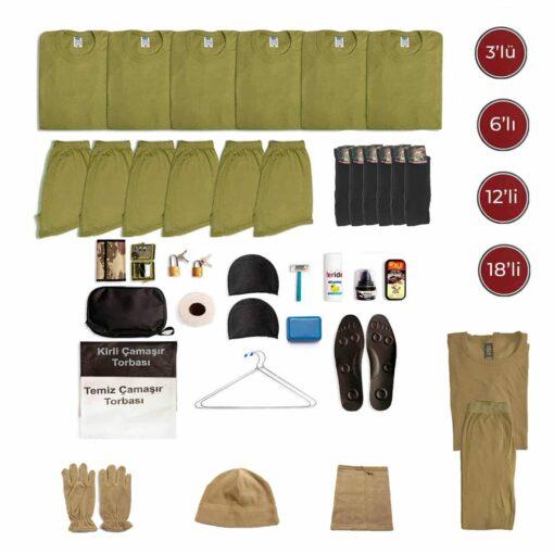 temel denizci jandarma kislik asker malzemeleri asker kiyafetleri