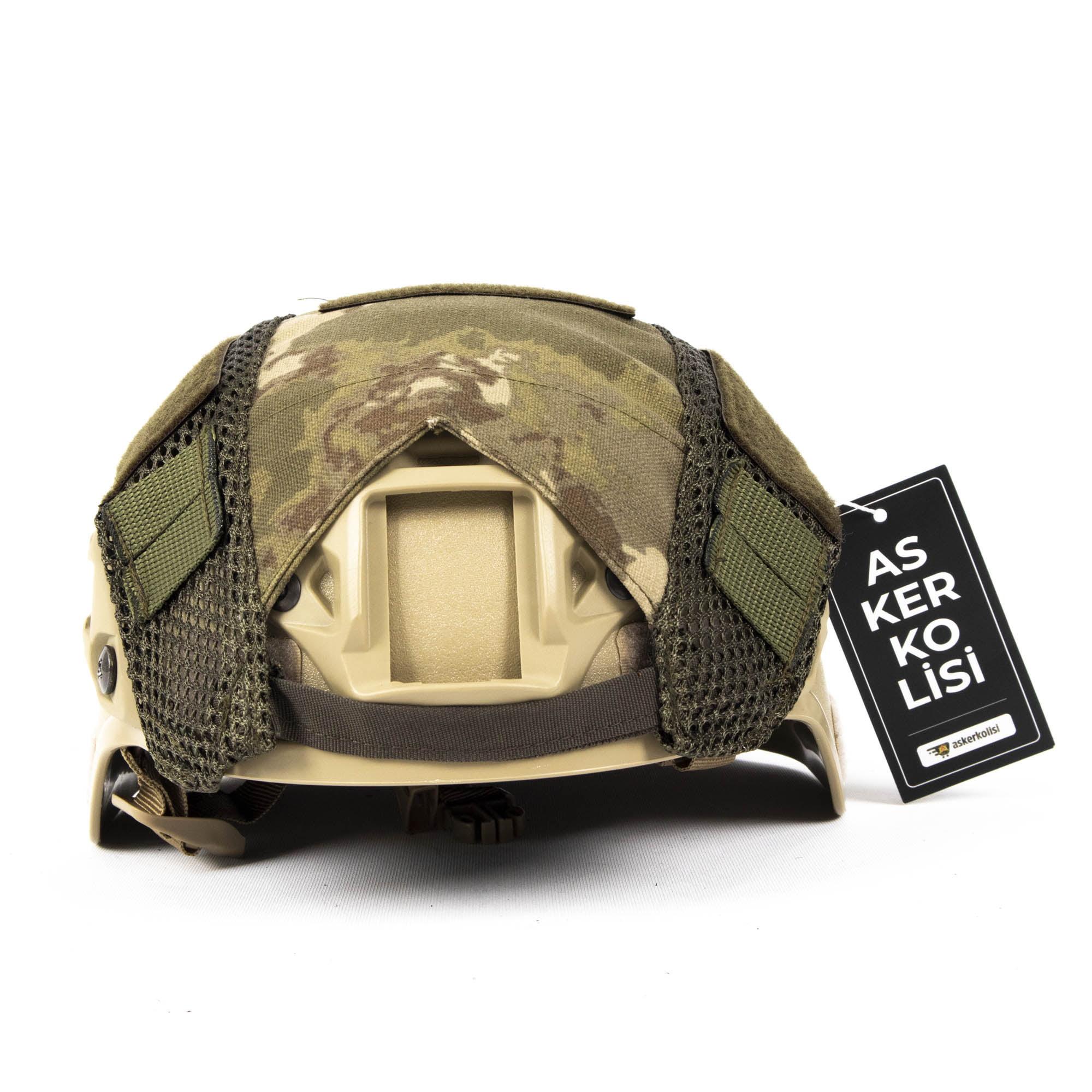yeni tsk kamuflaj askeri airsoft kask kilifi askeri malzeme
