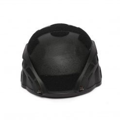 siyah kompozit baslik migfer koruyucu aitsoft paintball urun askeri malzeme